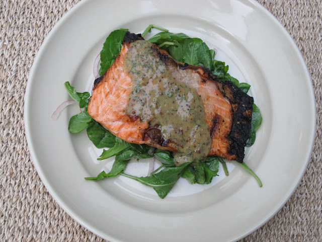 Bobby Flay grilled salmon recipe