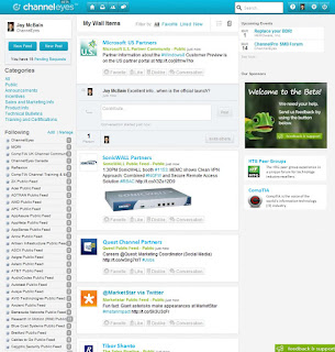 ChannelEyes Social Wall