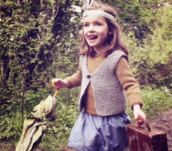 Traditional knits by Hambro & Miller for autumn 2014 kids fashion collection