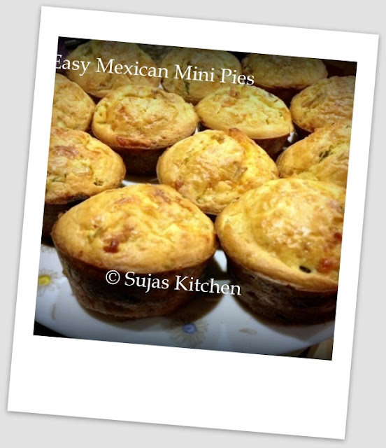 Easy Mexican Mini Pies