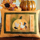 Folk Art Pumpkin IV