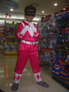 Power Rangers Galaxy Pink
