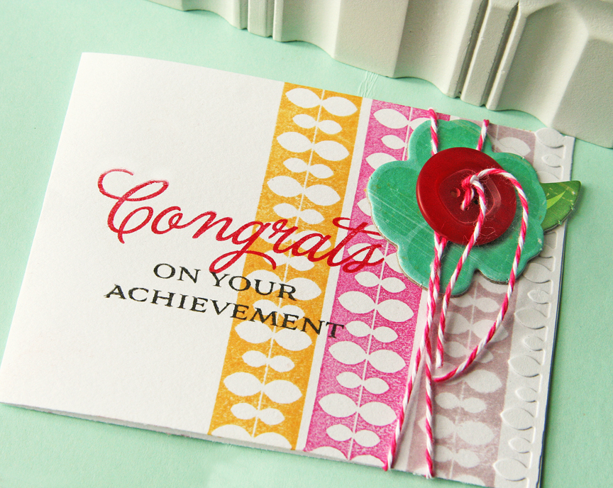 Congrats for your achievement