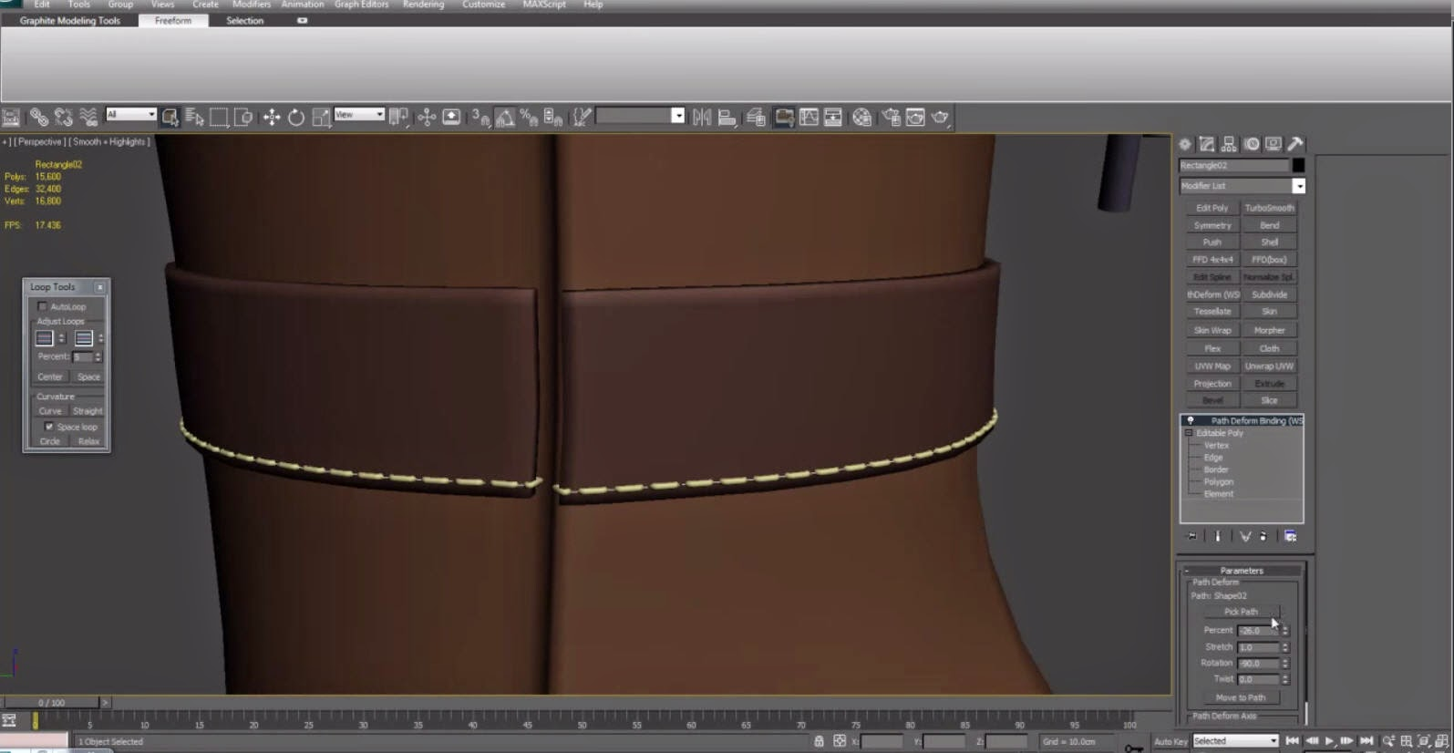 Modeling Rumah 3ds Max How To Model Stitches With