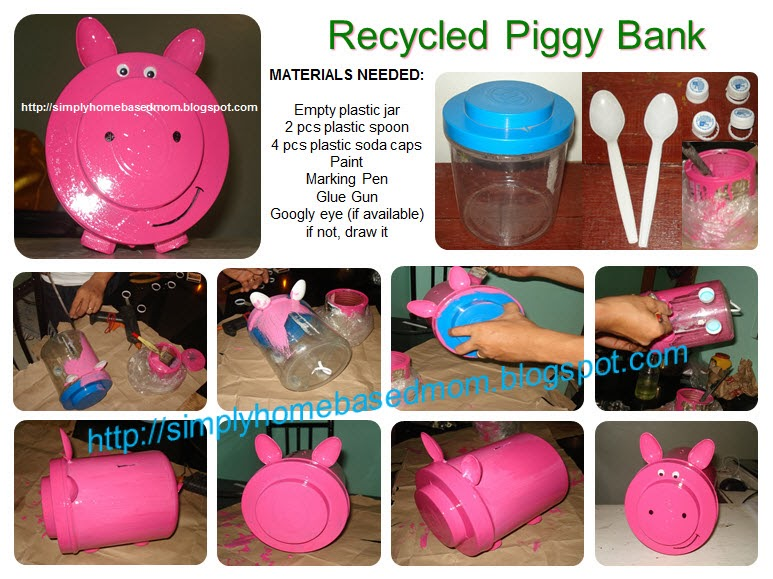 Simply homebased mom the practical filipina the for Recycled crafts to sell