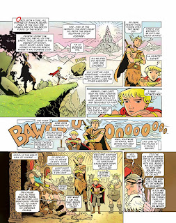 thor,comics,craig,phillips,illustration,fairy tale