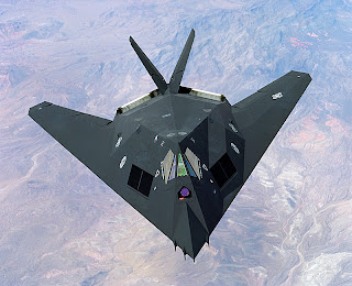 F-117A Nighthawk Stealth Fighter