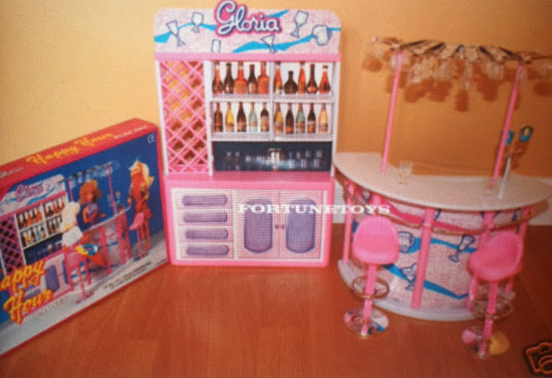 Repainting The Bar, Gloria Furniture