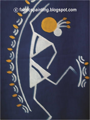 Warli Painting dance pose