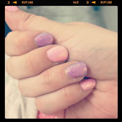 Mermaid Fingernails