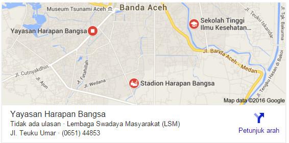 Yayasan Harapan Bangsa Darussalam Banda Aceh