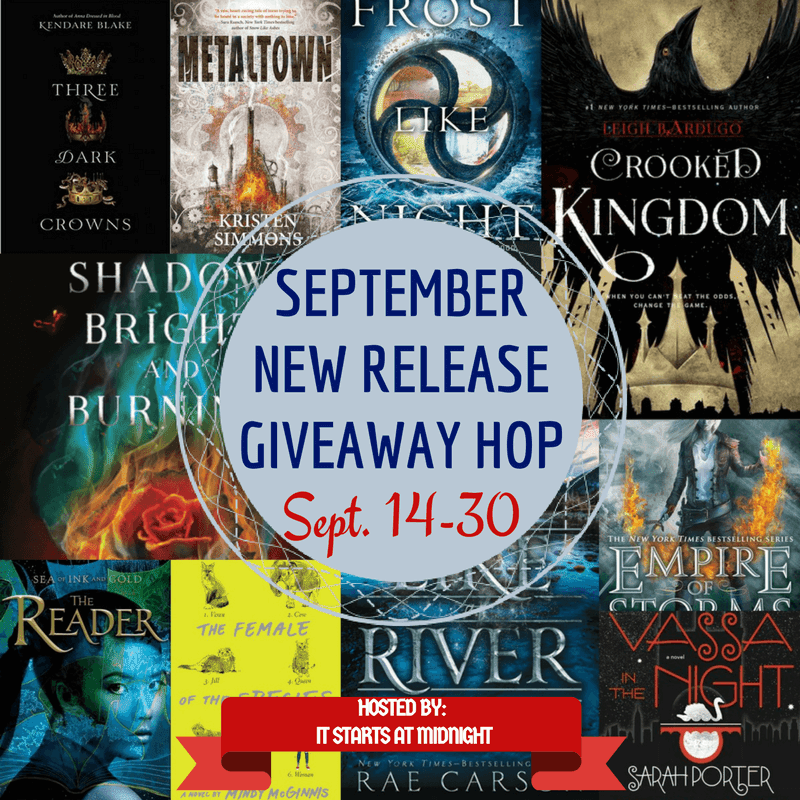 September New Release Giveaway Hop