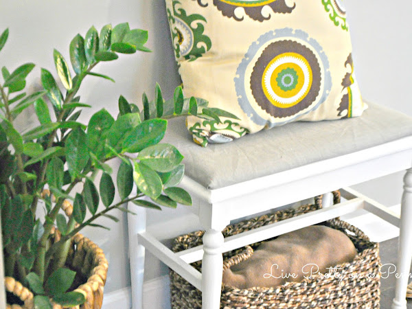 Quick and Easy DIY Bench Makeover