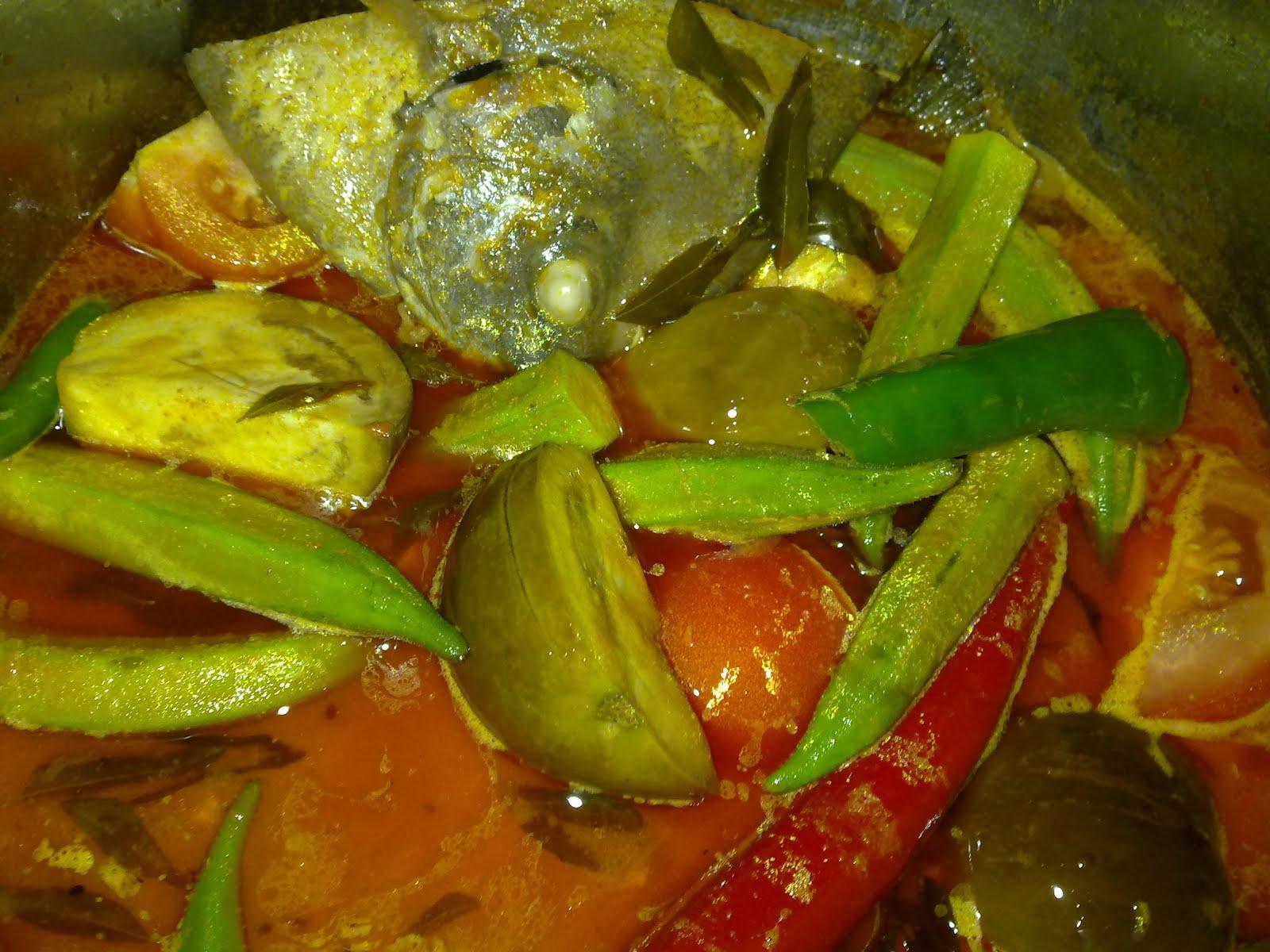 Resepi Kari Kepala Ikan Ala Dezaman DEZAMAN COTTAGE
