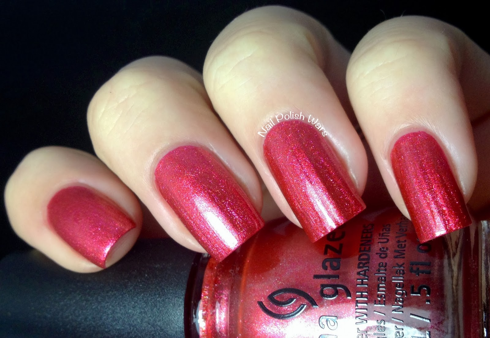 nail polish wars china glaze happy holiglaze collection