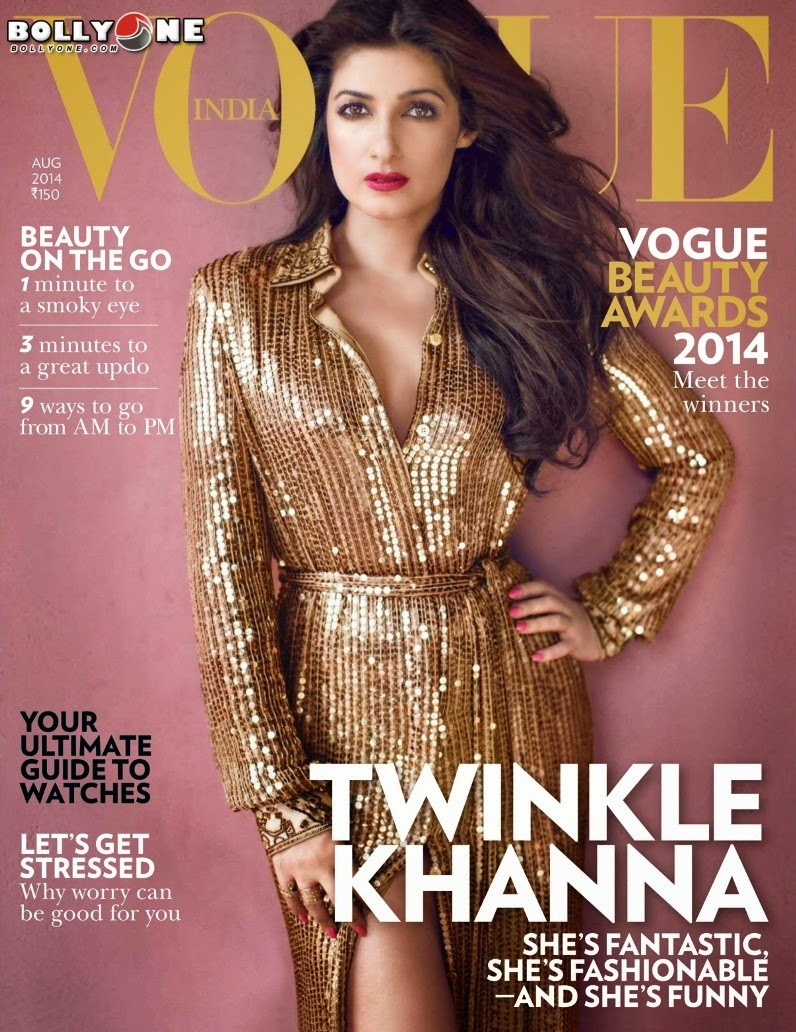 Twinkle Khanna Vogue Magazine 2014 Images Pics wallpapers