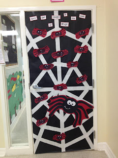 Gallery For gt Red Ribbon Week Door Decorating Ideas Scarecrow