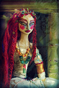 """The Lady of Shallot"" Doll(My Version of her ends up just Dandy!)"