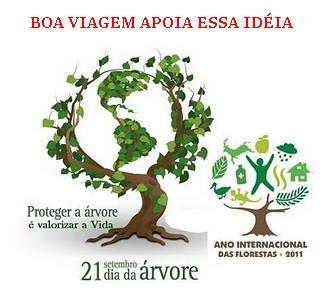 # PROTEGER A ARVORE É VALORIZAR Á VIDA #