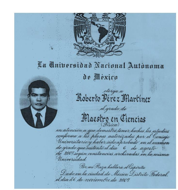 FISICA UNAM