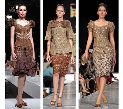 Foto Model Baju Kebaya Gaun 2014