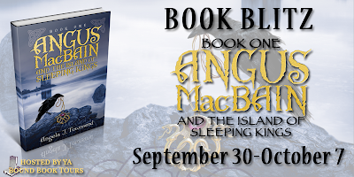 Book Blitz + Giveaway: Angus MacBain and the Island of Sleeping Kings