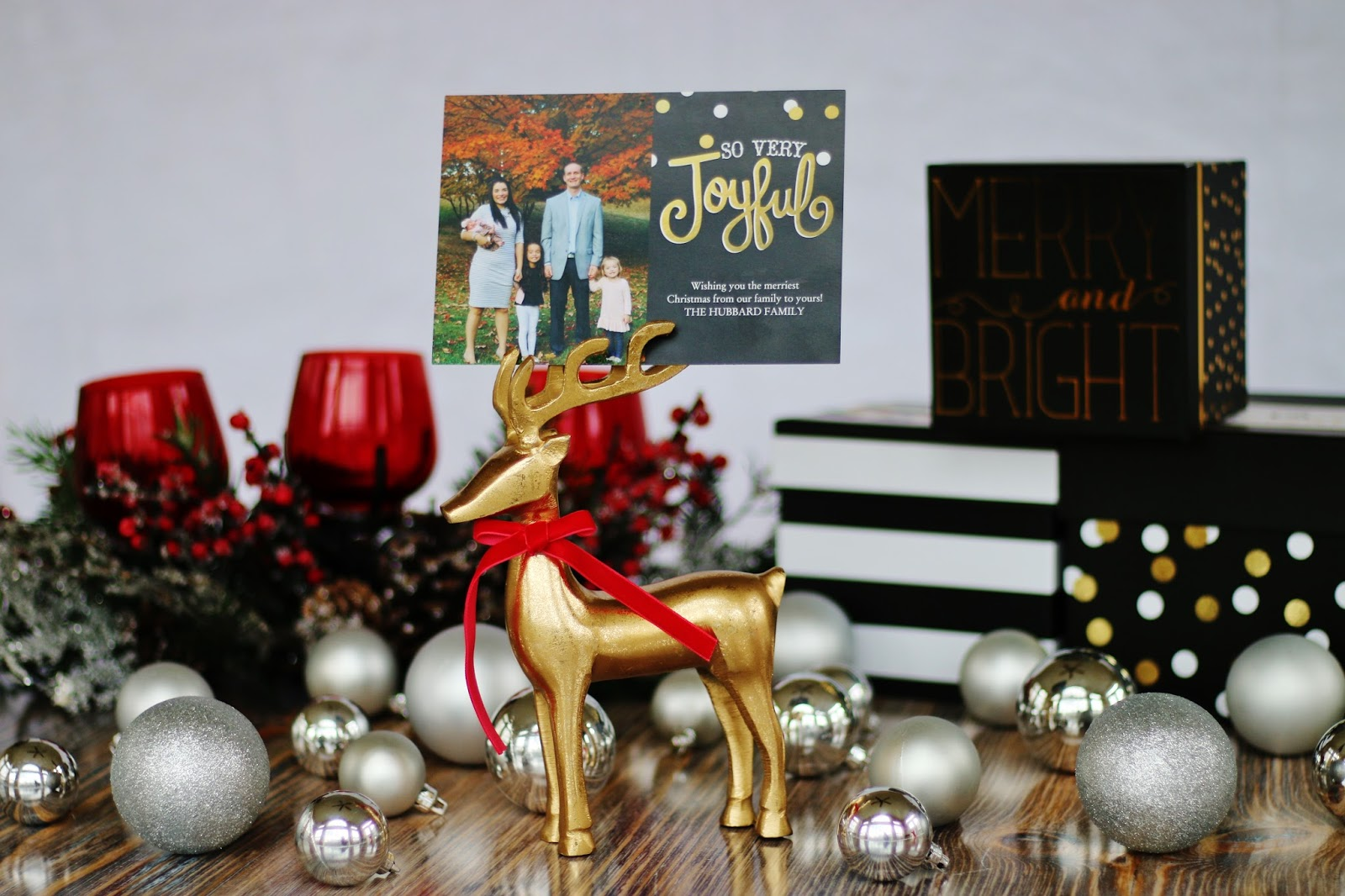 My Simple Modest Chic: Christmas Cards
