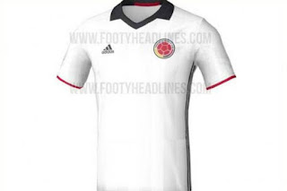 camisa blanca seleccion colombia