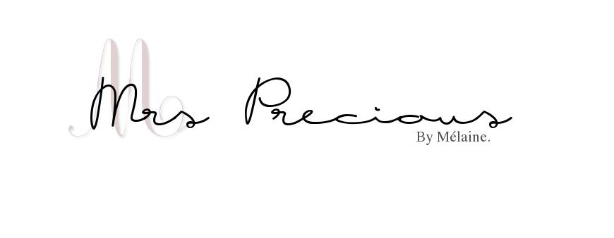 Le blog de Mrs-Précious