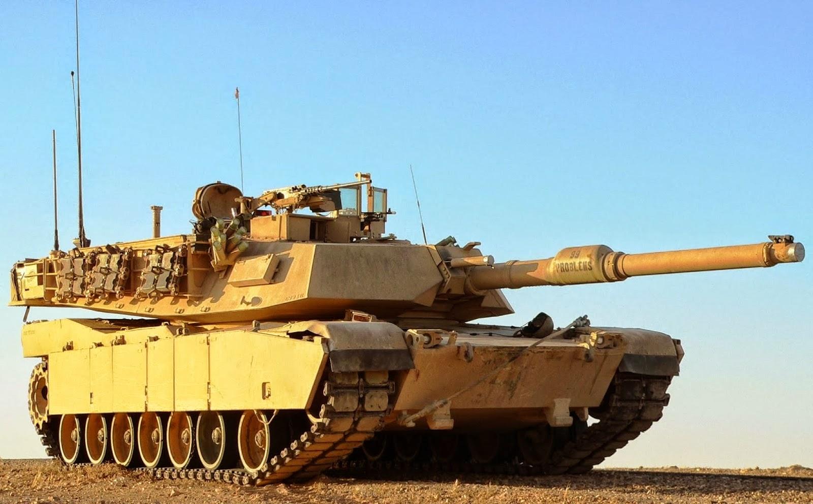 """M1 Abrams – O """"cavalo de batalha"""" do Exército dos EUA"""