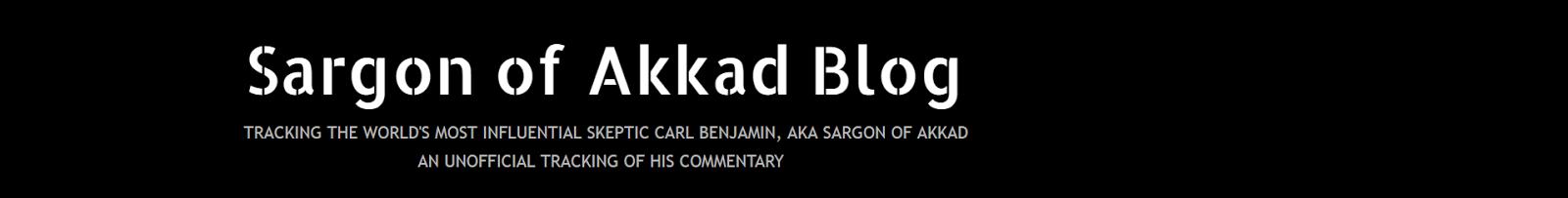 Sargon of Akkad Blog