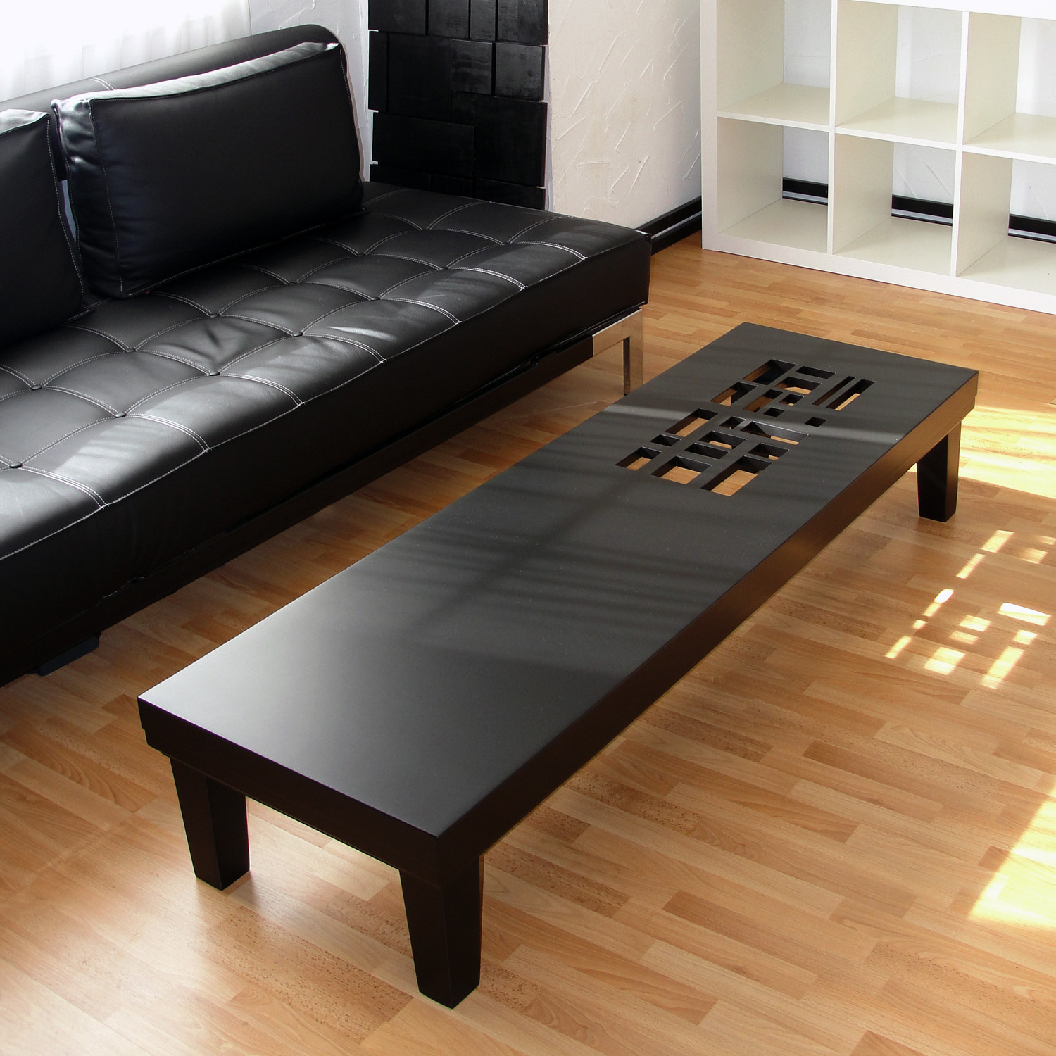 Classic Black Coffee Table by Farzan Nemat