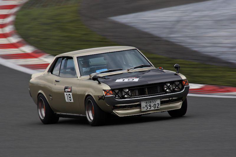 piękne coupe, made in japan, sportowy samochód, klasyczny, Toyota Celica z pierwszej generacji, racing, wyścigi, Japan