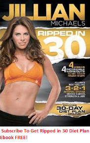 Get Your Free Copy Of Jillian Michaels Ripped in 30 Meal Plan
