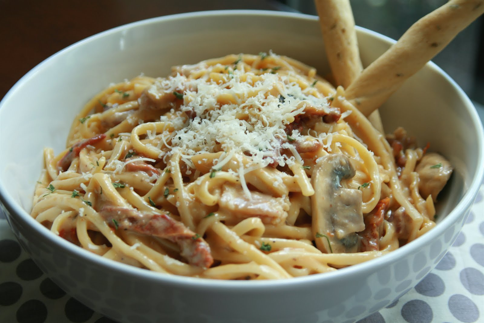You could lose 10lbs in three days on How to cook chicken carbonara