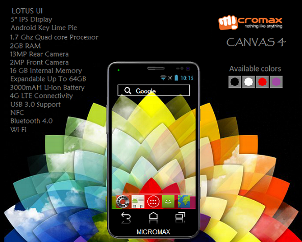 micromax a117 canvas 4