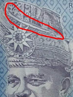 Rahsia Tengkolok Wang Kertas RM1