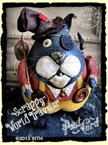"""Scrappy"" the World Traveler"""