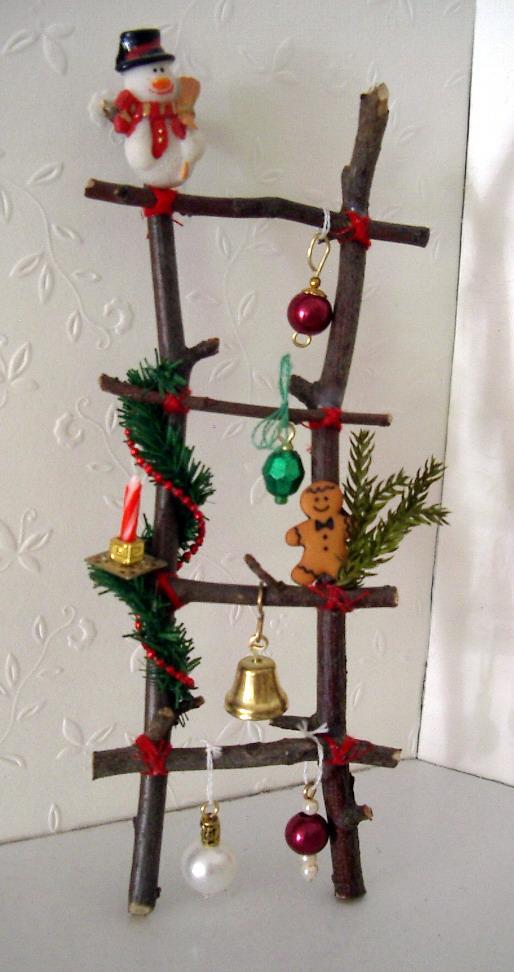 Puno 39 s minis 1 12 puno 39 s adventskalender 2012 - Leiter dekorieren ...