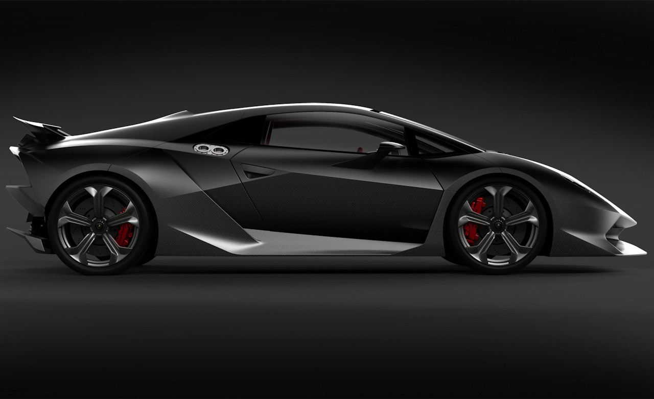 sport car garage lamborghini sesto elemento 2013. Black Bedroom Furniture Sets. Home Design Ideas
