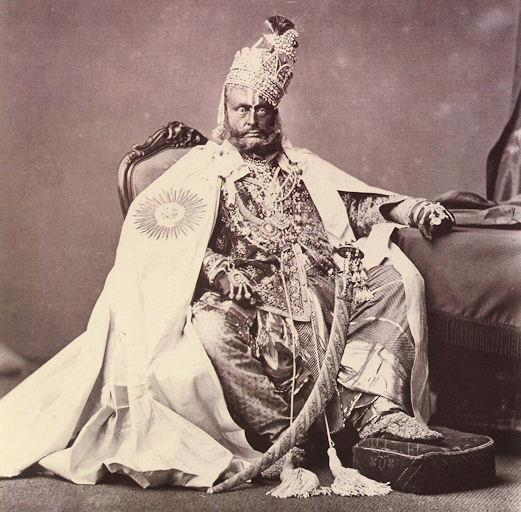 Rewa India  City new picture : maharaja of rewa The XXIV king Bhav Singh Ju Deo now in MP 1877