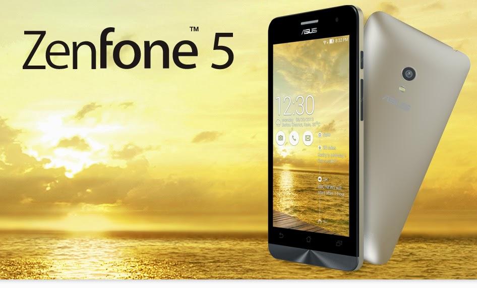 ASUS ZenFone 5 Smartphone Android Terbaik Saat Ini