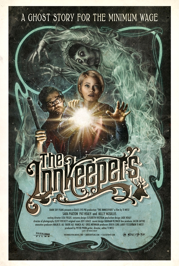 Póster The Innkeepers, de Ti West