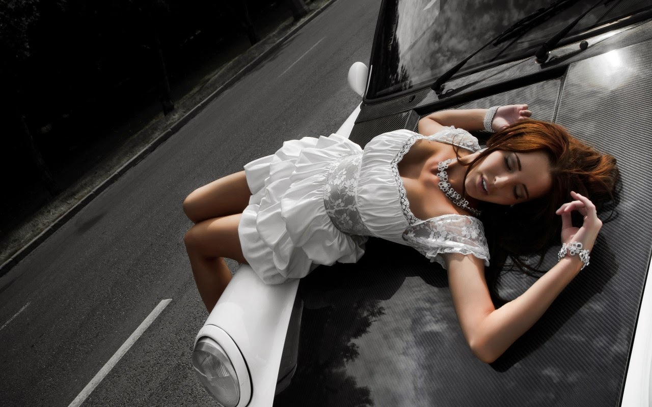 Sexy Girls And Cars Wallpapers HD