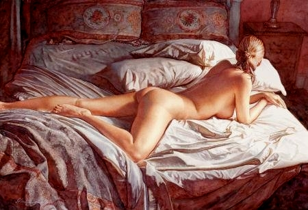 faboulous watercolor paintings by Steve Hanks