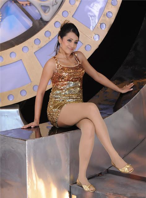Trisha in saree stills