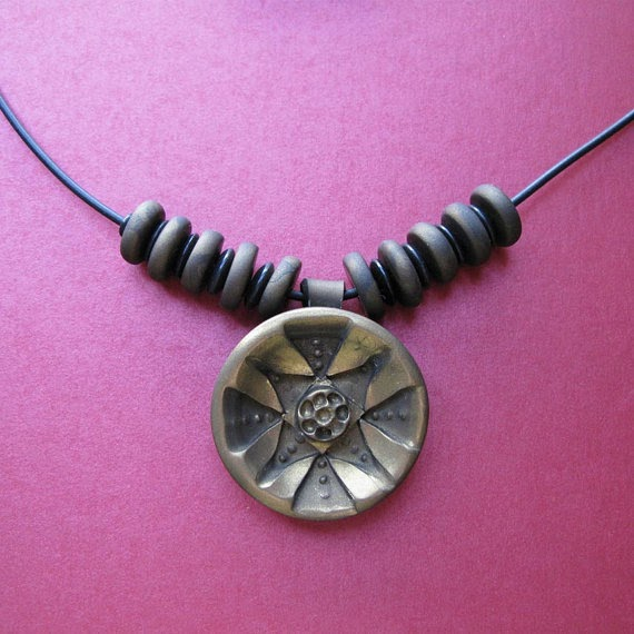 stunning contemporary polymer clay jewelry by roberta