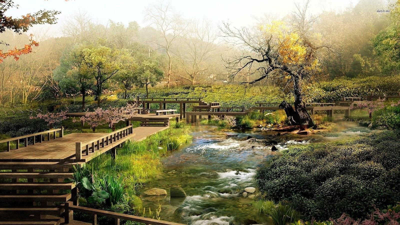 Gallianmachi japanese beautiful garden for Japanese landscape