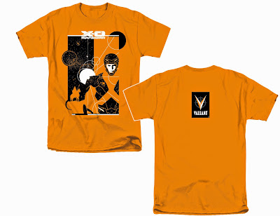 X-O Manowar Cover Valiant Comics T-Shirt by David Aja