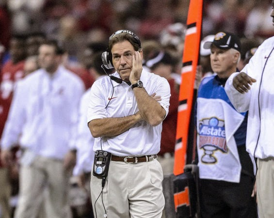 Nick Saban wants College Football Playoff committee to put select all bowl game matchups.